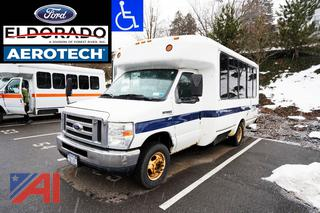 2010 Ford E350 Aerotech Shuttle Bus/721