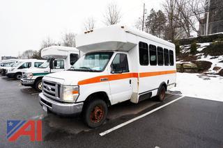 2008 Ford E350 Super Duty Coach Wheelchair Shuttle Bus/671 Orange