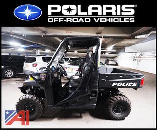 2018 Polaris Ranger 18-900XP UTV/ Police Off Road Vehicle