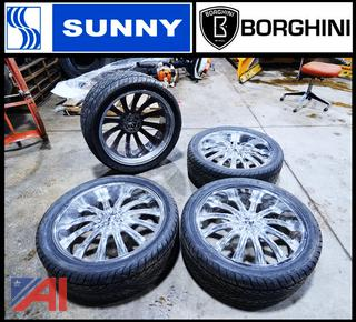Sunny/Borghini Tires & Rims