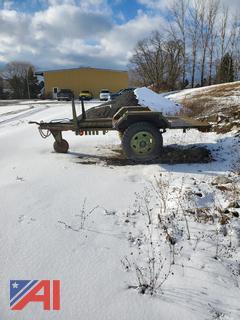 Military 2 Wheel M103 A3 Trailer