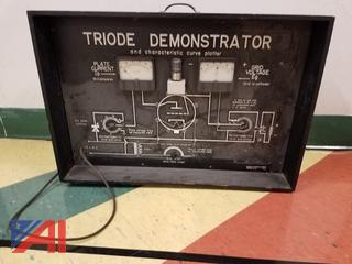 (#4) Triode Demonstrator & World Globe