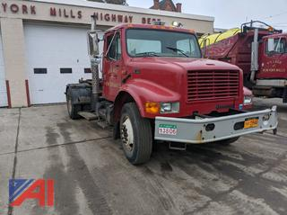 *Lot Updated* 2001 International 4700 Cab & Chassis with Swaploader Hook Hoist