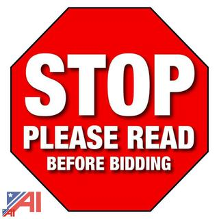 STOP PLEASE READ BEFORE BIDDING