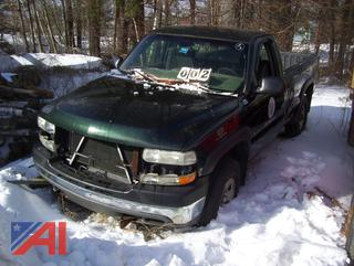 2002 Chevy Silverado 2500HD Pickup Truck