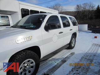 2013 Chevy Tahoe SUV/Police Vehicle