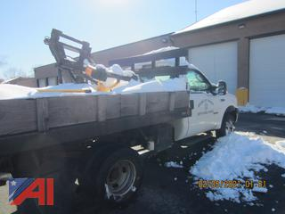 2006 Ford F350 XL Super Duty Dump with Plow & Lift Gate