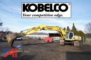 2002 Kobelco SK330LC Track Excavator/101