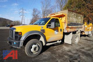 2008 Ford F550 XL Super Duty Dump Truck/39