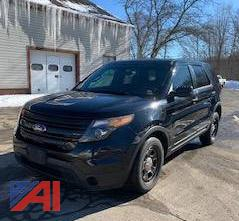 2014 Ford Explorer/Police Vehicle Suburban