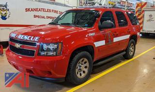 2013 Chevy Tahoe Suburban Emergency Vehicle