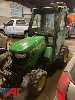 """UPDATED: 2009 John Deere 2320 Tractor with Cab & 62"""" Mowing Deck"""