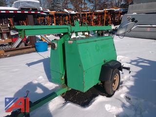 2003 Allmand Diesel Light Tower with Generator