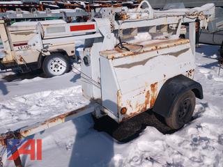 2005 Genie Diesel Light Tower with Generator