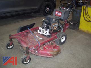 """Toro Proline 42"""" Mower"""