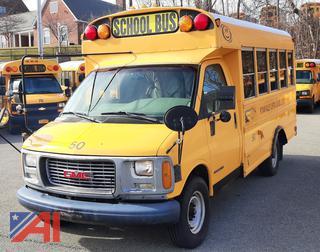(#50) 1999 GMC Savana G3500 Wheelchair Mini School Bus