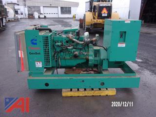 Onan Gen Set 45GGFC Generator 45 kw