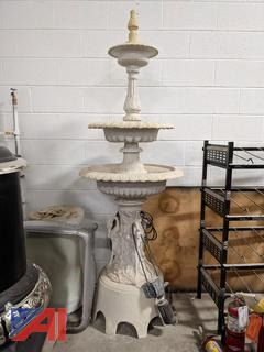 3 Tier Stone Fountain