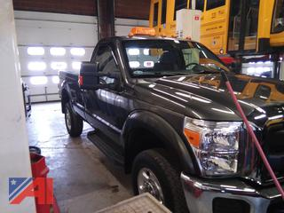 2016 Ford F250 XL Super Duty Pickup Truck with Plow