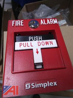 Various Simplex Fire Alarm Parts and More