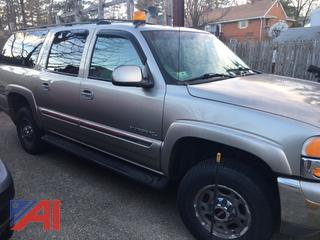 2002 GMC Yukon XL 2500 SUV with Plow