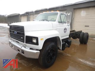 1985 Ford F600 Cab & Chassis