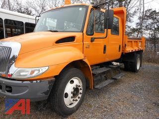 2004 International 4200 Crew Cab Dump Truck