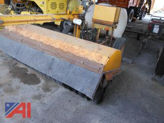1987 M & B 53MH Tow Behind Broom Sweeper