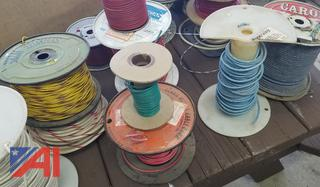 Assorted Spools of Copper Wire