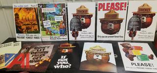 Vintage Smokey the Bear Posters