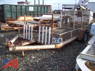 1992 On The Road ET2600 Trailer with Ramp
