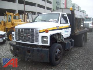 2000 GMC C6500 Stake Truck  with Sander