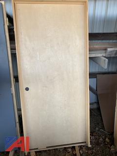 Interior Birch Right Hand Door Unit