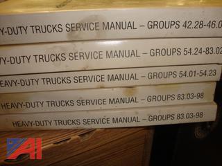 (#1753) Heavy Duty Truck Shop Manuals