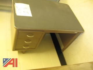 Steel Teachers Desk