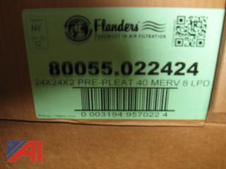 Fiberglass Throwaway and Pleated Filters