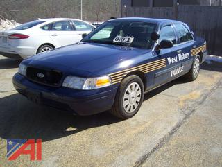 2011 Ford Crown Victoria Sedan/Police Interceptor
