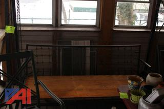 Porch Swing, Picinic Table and More