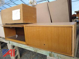 Wooden Cubicle Cabinets