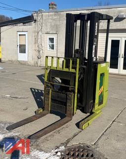 **UPDATED: Clark Stand on Forklift with Charger