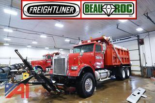 2006 Freightliner FLD120 16' Beau-Roc 10 Wheeler Dump Truck