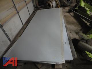 4' x 10' Painted Aluminum Panels