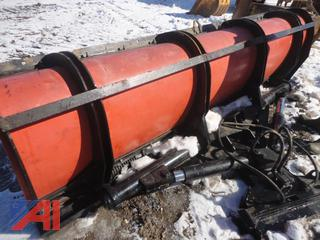 11' Poly Straight Angle Plow