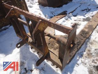 9' CAT TH82 Pallet Handler Lifting Forks