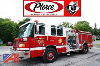 1999 Pierce Quantum Pumper