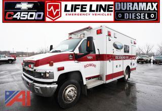 2007 Chevy 4500/Life Line Highliner Ambulance