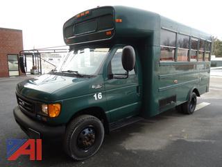 2004 Ford E450, B2VC19905 Wheelchair Mini Bus