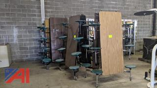 Folding Cafeteria Tables