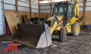 2006 New Holland B95TC Backhoe with Attachments