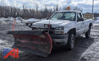 2006 Chevy Silverado 2500HD Pickup Truck with Plow and Liftgate
